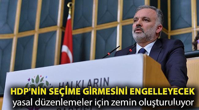 Ayhan Bilgen: HDP'nin seçime girmesini engelleyecek yasal düzenlemeler için zemin oluşturuluyor