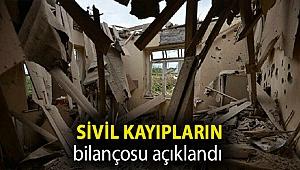 Azerbaycan'da Ermenistan'ın saldırılarında 47 sivil yaşamını yitirdi, 222 sivil yaralandı