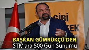 Başkan Gümrükçü'den STK'lara 500 Gün Sunumu