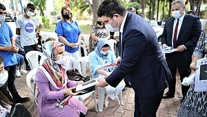 Başkan Kılıç görme engellilerle buluştu