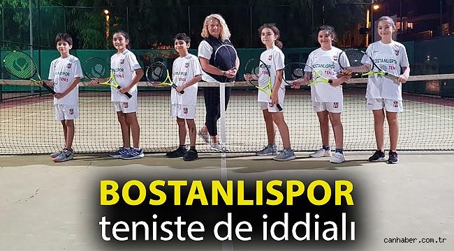 Bostanlıspor teniste de iddialı…