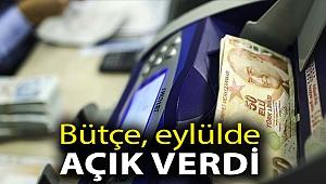 Bütçe, eylülde 29.7 milyar lira açık verdi