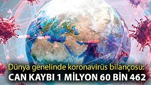 Dünya genelinde koronavirüs bilançosu: Can kaybı 1 milyon 60 bin 462