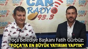 Foça Belediye Başkanı Fatih Gürbüz: