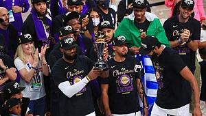 LeBron kral, Lakers şampiyon!