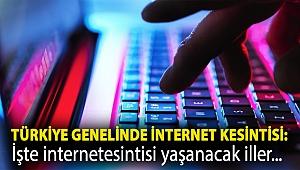 Türkiye genelinde internet kesintisi: Bazı servis sağlayıcıların hizmetlerinde aksama yaşanıyor