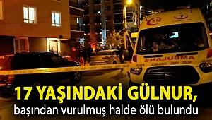 17 yaşındaki Gülnur, başından vurulmuş halde ölü bulundu