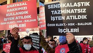 Ankara'ya yürümek isteyen metal işçilerine polis barikatı: 4 gözaltı!