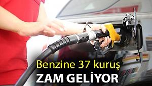 Benzine 37 kuruş zam geliyor
