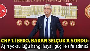 CHP'li Beko, Bakan Selçuk'a sordu: Aşırı yoksulluğu hangi hayali güç ile sıfırladınız?