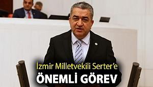 İzmir Milletvekili Serter'e önemli görev