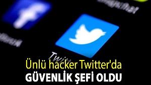 Ünlü hacker Twitter'da güvenlik şefi oldu