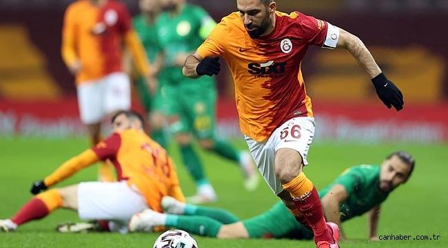 Galatasaray'da Arda'dan Fatih Terim'e büyük destek