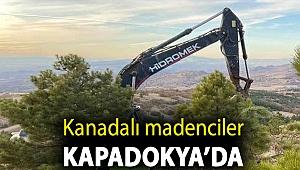 Kanadalı madenciler Kapadokya'da