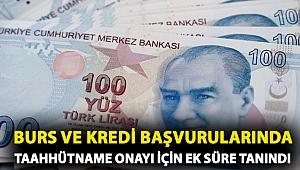 Bakan açıkladı: Burs ve kredi başvurularında taahhütname onayı için ek süre tanındı