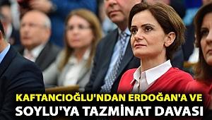 Canan Kaftancıoğlu'ndan Erdoğan'a bir milyon bir liralık, Soylu'ya bir milyon liralık tazminat davası