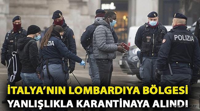 Covid: İtalya'nın Lombardiya bölgesi hesap hatası yüzünden bir hafta yanlışlıkla karantinaya alındı