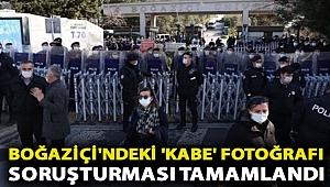 Boğaziçi'ndeki 'Kabe' fotoğrafı soruşturması tamamlandı