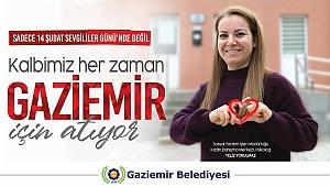 Kalpler Gaziemir için atıyor