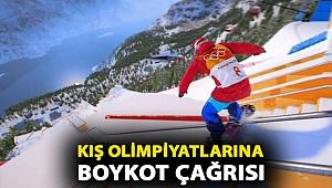 Kış olimpiyatlarına boykot çağrısı