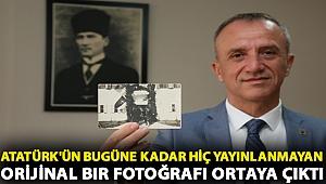 Atatürk'ün bugüne kadar hiç yayınlanmayan orijinal bir fotoğrafı ortaya çıktı