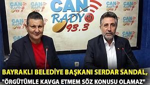 Bayraklı Belediye Başkanı Serdar Sandal ,