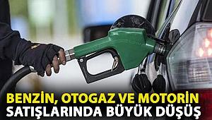 Benzin, otogaz ve motorin satışlarında büyük düşüş