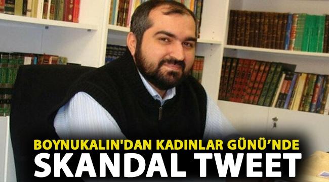 Boynukalın'dan Kadınlar Günü'nde skandal tweet