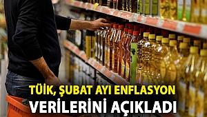TÜİK, şubat ayı enflasyon verilerini açıkladı