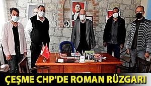 Çeşme CHP'de Roman rüzgarı