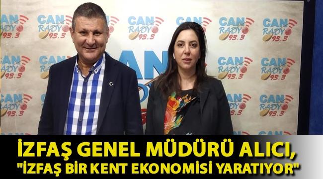 İZFAŞ Genel Müdürü Av. Canan Karaosmanoğlu Alıcı,