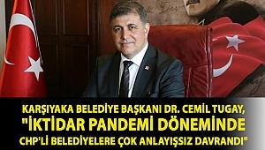 Karşıyaka Belediye Başkanı Dr. Cemil Tugay,