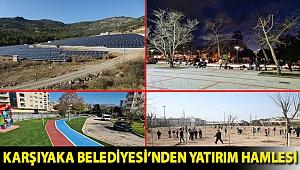 Karşıyaka Belediyesi'nden yatırım hamlesi