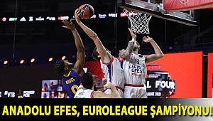 Anadolu Efes, EuroLeague şampiyonu!