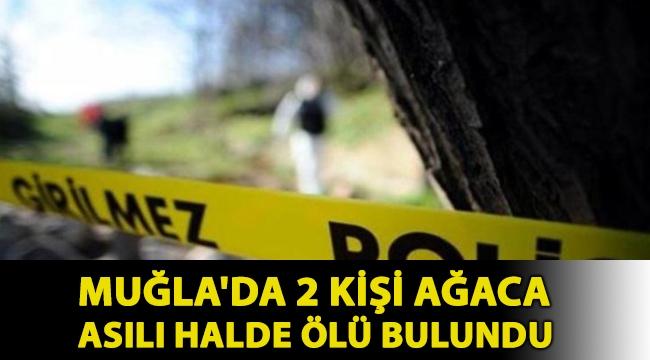 Muğla'da 2 kişi ağaca asılı halde ölü bulundu