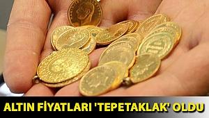Altın fiyatları 'tepetaklak' oldu