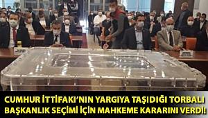 Cumhur İttifakı'nın yargıya taşıdığı Torbalı başkanlık seçimi için mahkeme kararını verdi!