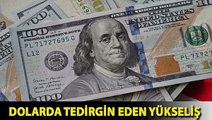 Dolarda tedirgin eden yükseliş
