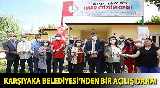 Karşıyaka Belediyesi'nden bir açılış daha!