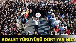 Kemal Kılıçdaroğlu'nun Ankara'dan İstanbul'a gerçekleştirdiği Adalet Yürüyüşü dört yaşında
