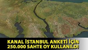 Taylan Yıldız: Kanal İstanbul anketi için 250.000 sahte oy kullanıldı
