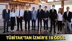 TÜBİTAK'tan İzmir'e 18 Ödül