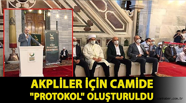 AKP'li Numan Kurtulmuş cemaatin