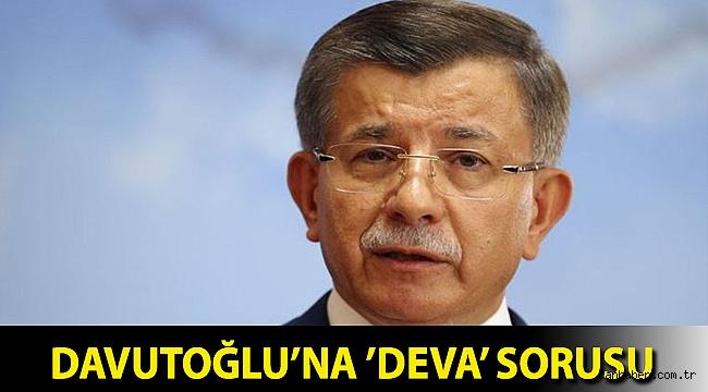 Davutoğlu,
