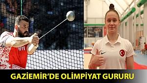 Gaziemir'de olimpiyat gururu