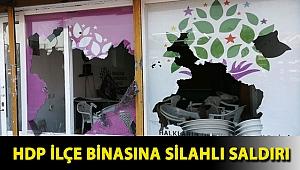 HDP ilçe binasına silahlı saldırı
