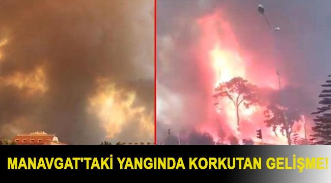 Manavgat'taki yangında korkutan gelişme! 3 gündür devam ediyor