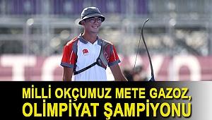 Milli Okçumuz Mete Gazoz, Olimpiyat Şampiyonu