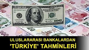 Merkez Bankası'nın kararının ardından uluslararası bankalardan 'Türkiye' tahminleri