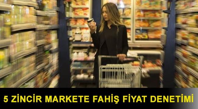 Ticaret Bakanlığı müfettiş görevlendirdi: 5 zincir markete fahiş fiyat denetimi